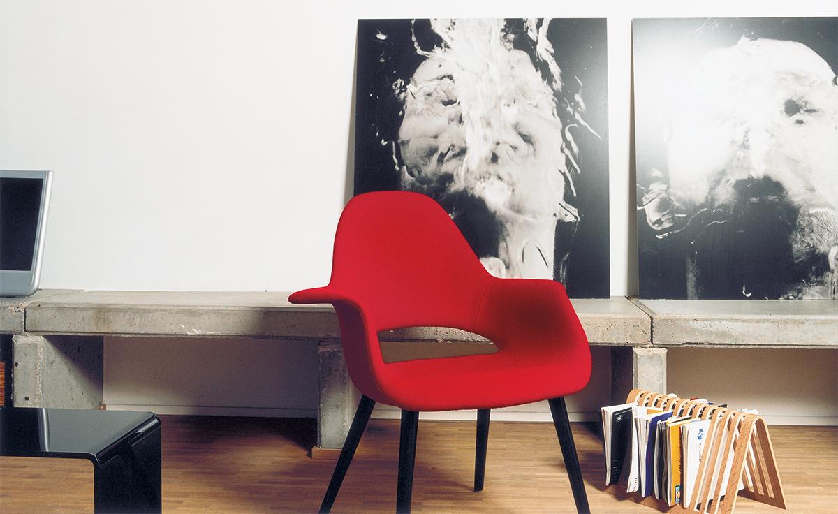 Eames Amp Saarinen Organic Chair Hivemodern Com