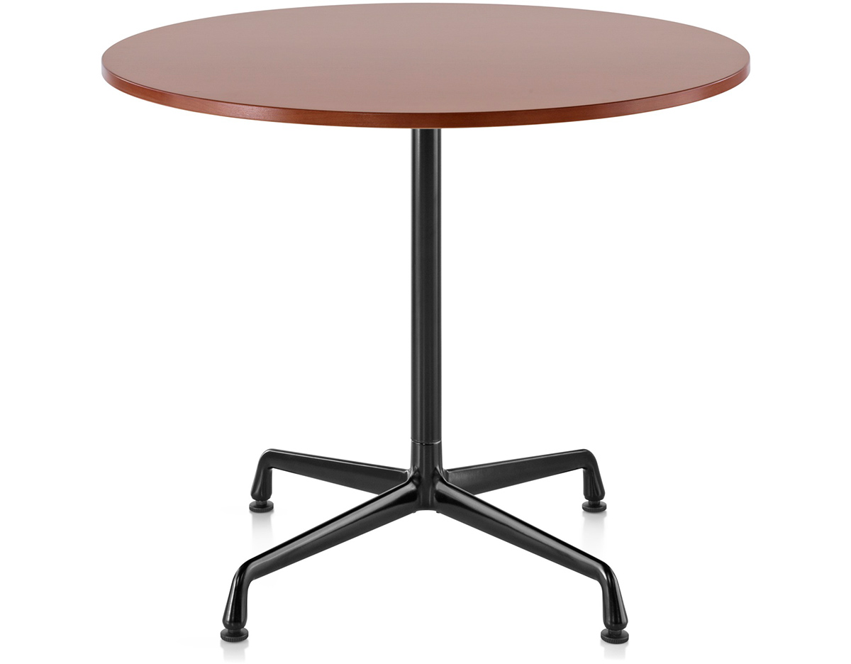 Eames small table with laminate top vinyl edge for Small designer tables