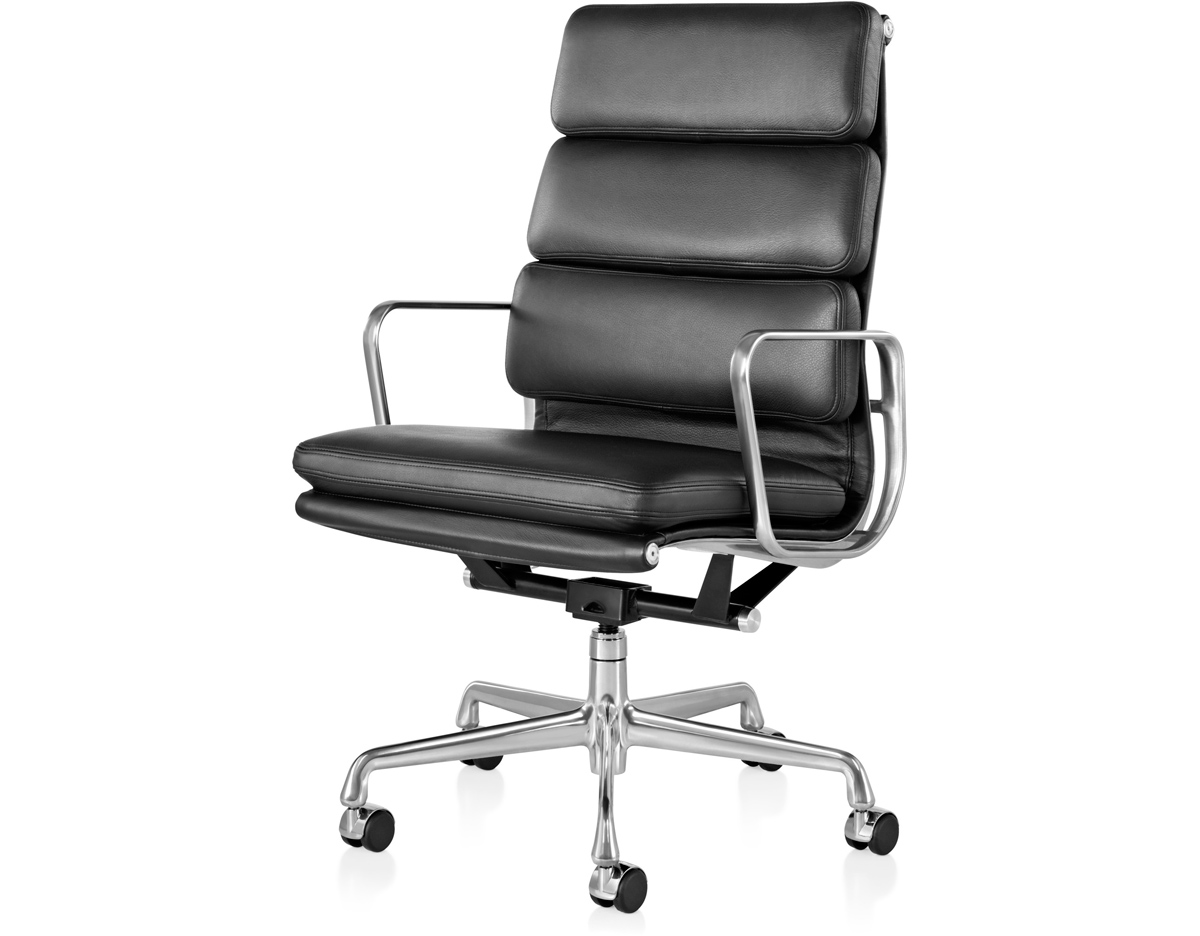 Eames soft pad group executive chair for Eames alu chair nachbau