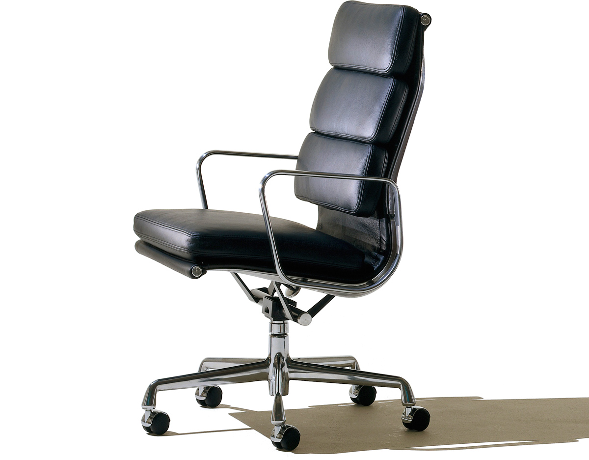 Eames soft pad group executive chair - Eames chair herman miller ...