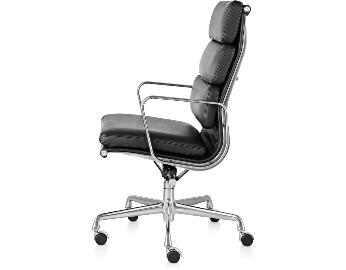 Eames Soft Pad Lounge Chair eames® soft pad group executive chair - hivemodern