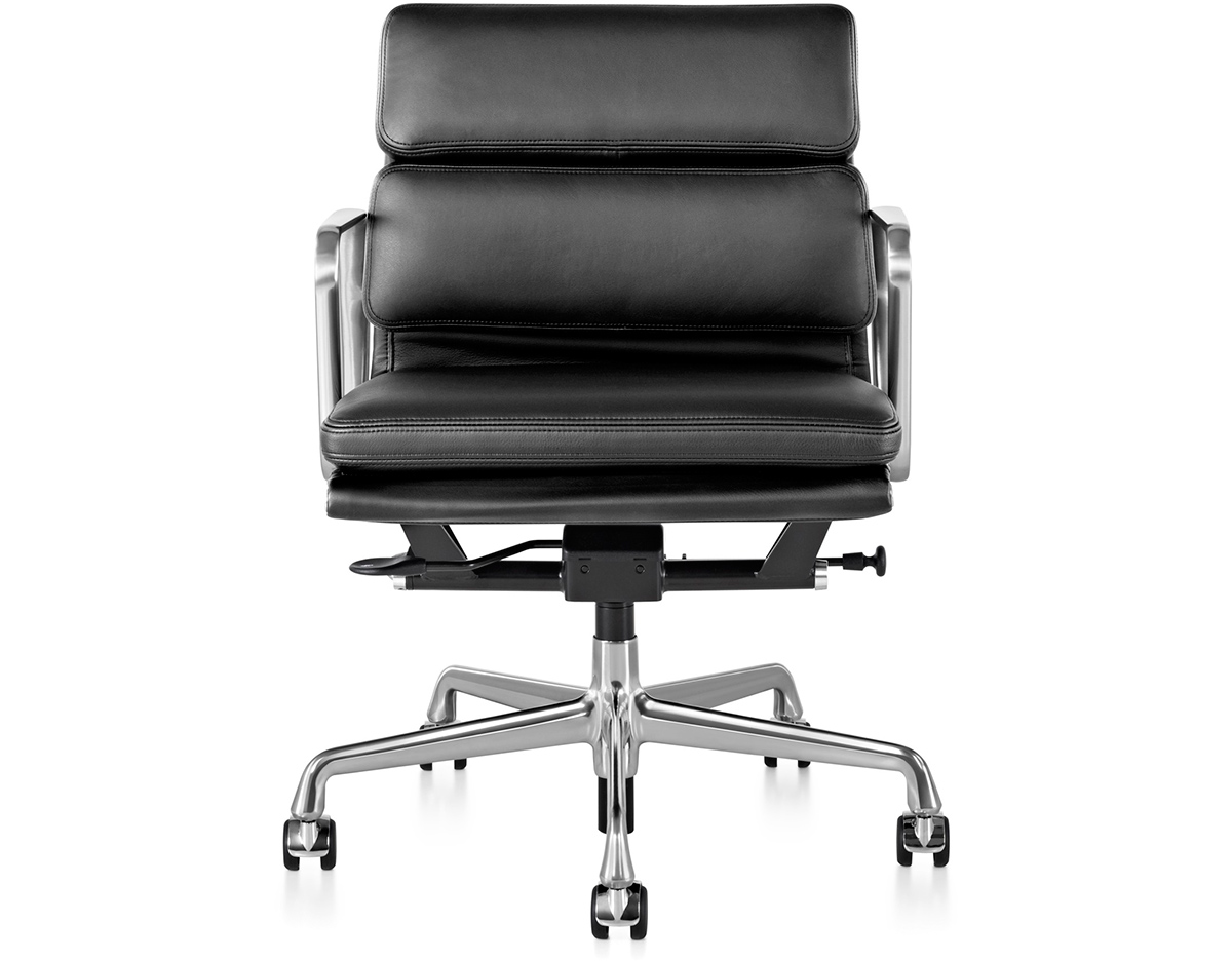Eames soft pad management chair replica eames soft pad management chair replica black in 325 w - Eames aluminum group lounge chair replica ...