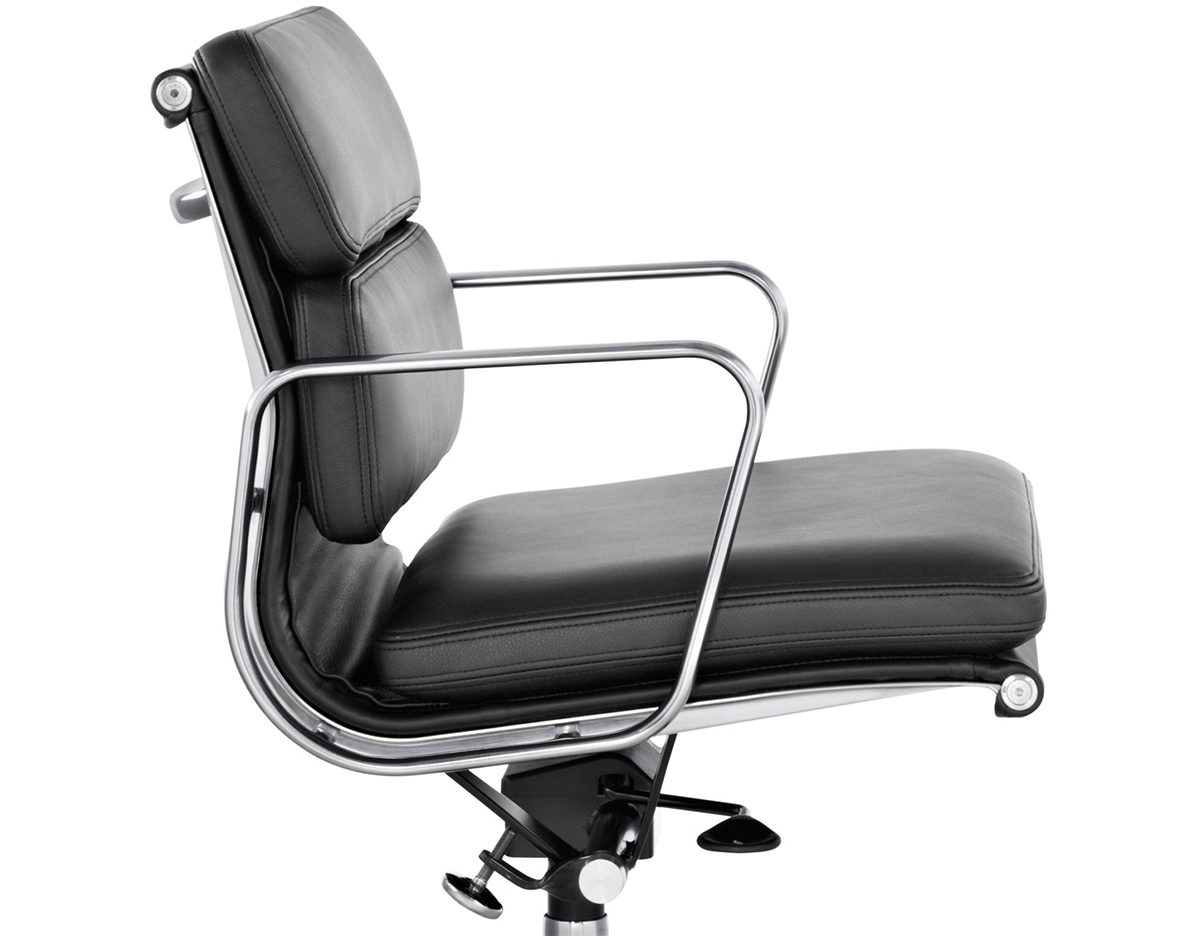 Overview  Eames  Soft Pad Group Management Chair   hivemodern com. Eames Soft Pad Management Chair Used. Home Design Ideas