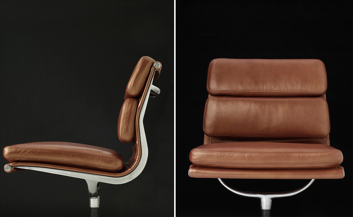 Tan Leather Eames Office Chair Design Ideas