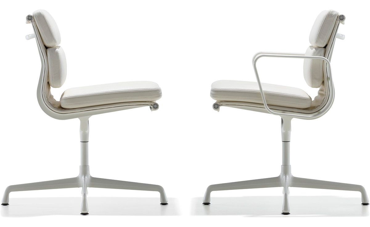Eames 174 Soft Pad Group Side Chair Hivemodern Com