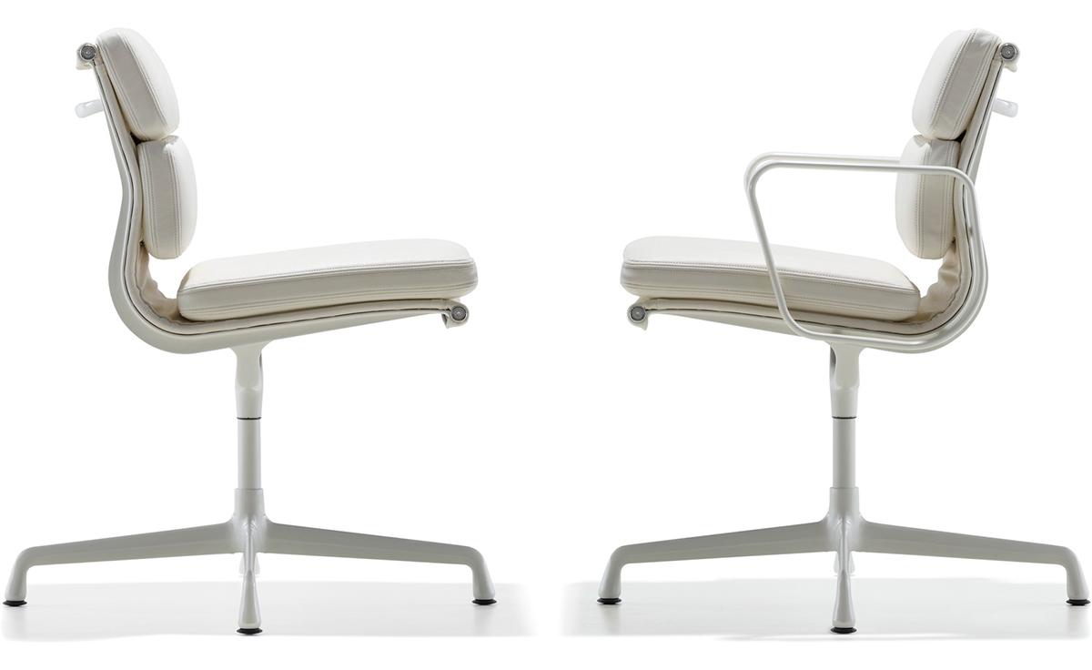 eames soft pad group side chair. Black Bedroom Furniture Sets. Home Design Ideas