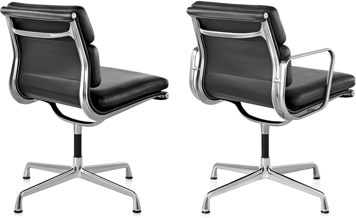 eames soft pad group side chair. Black Bedroom Furniture Sets. Home Design Ideas