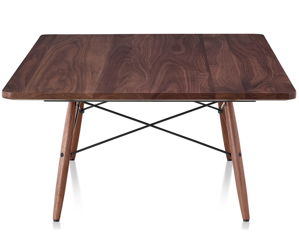 eames square coffee table. Black Bedroom Furniture Sets. Home Design Ideas