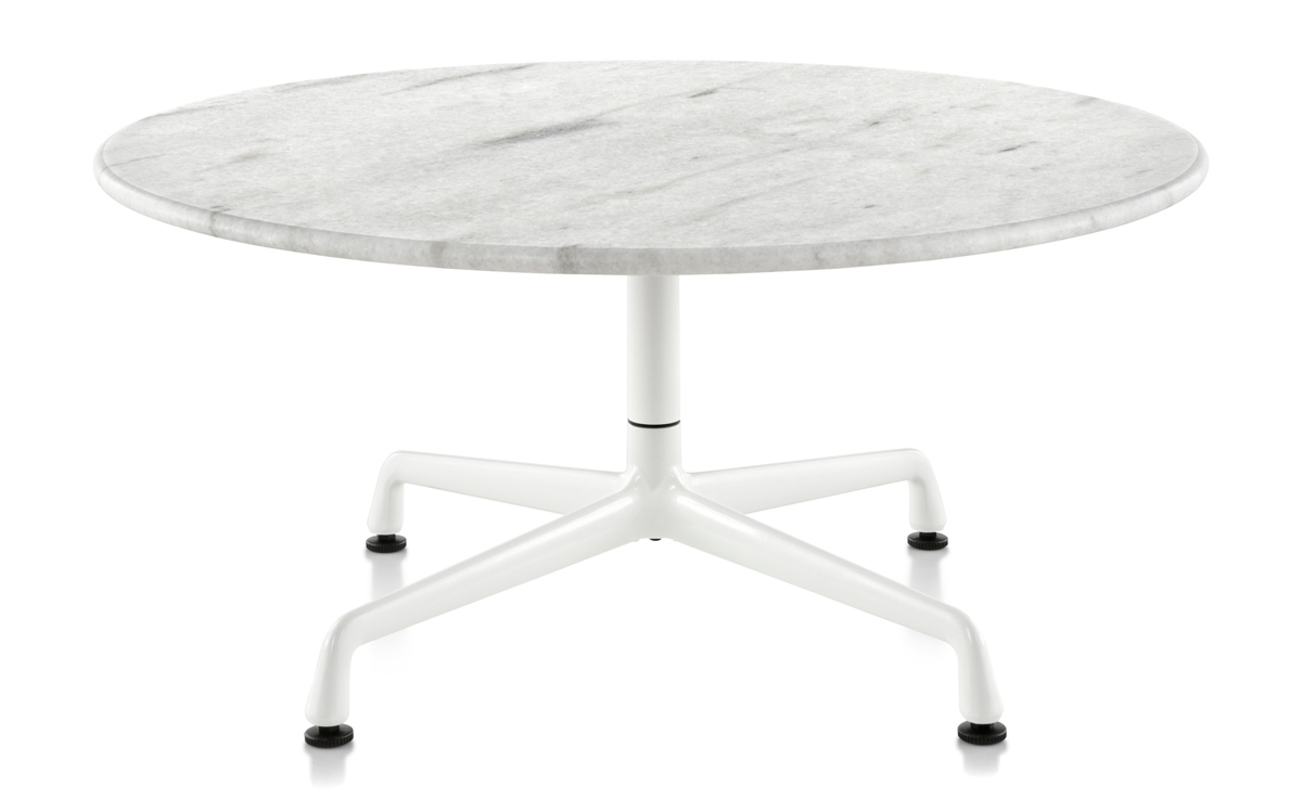 Eames Universal Base Outdoor Table 30 Dia  hivemoderncom