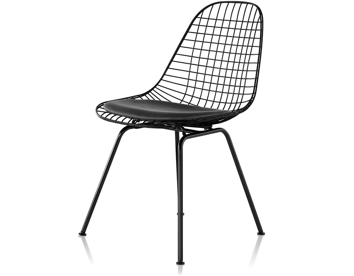 eames wire chair with 4 leg base. Black Bedroom Furniture Sets. Home Design Ideas