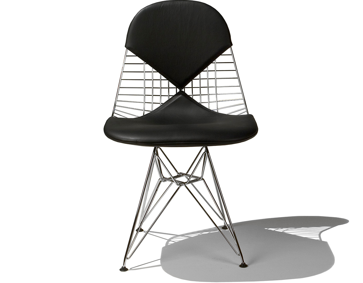 eames wire chair with bikini pad. Black Bedroom Furniture Sets. Home Design Ideas