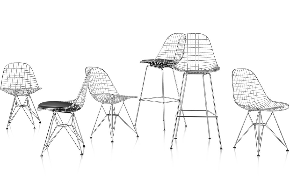 Eames 174 Wire Chair With Wire Base Hivemodern Com