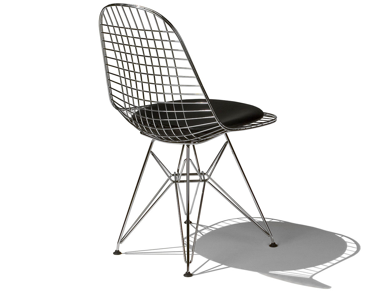 Eames wire chair black - Overview