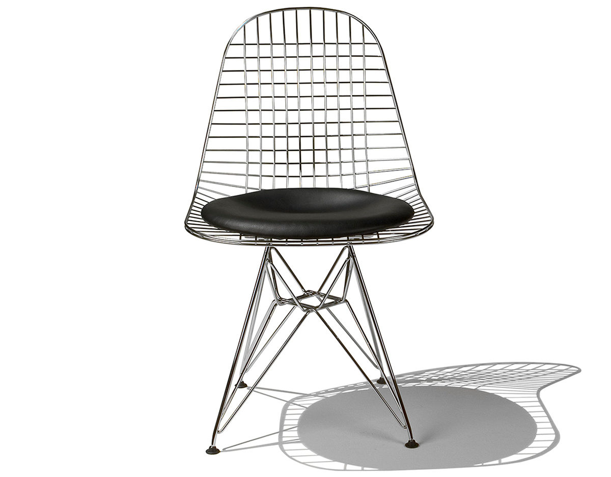 eames wire chair with wire base. Black Bedroom Furniture Sets. Home Design Ideas