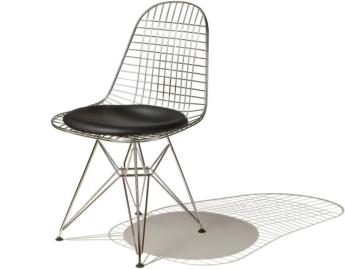 Eames Wire Chair With Wire Base