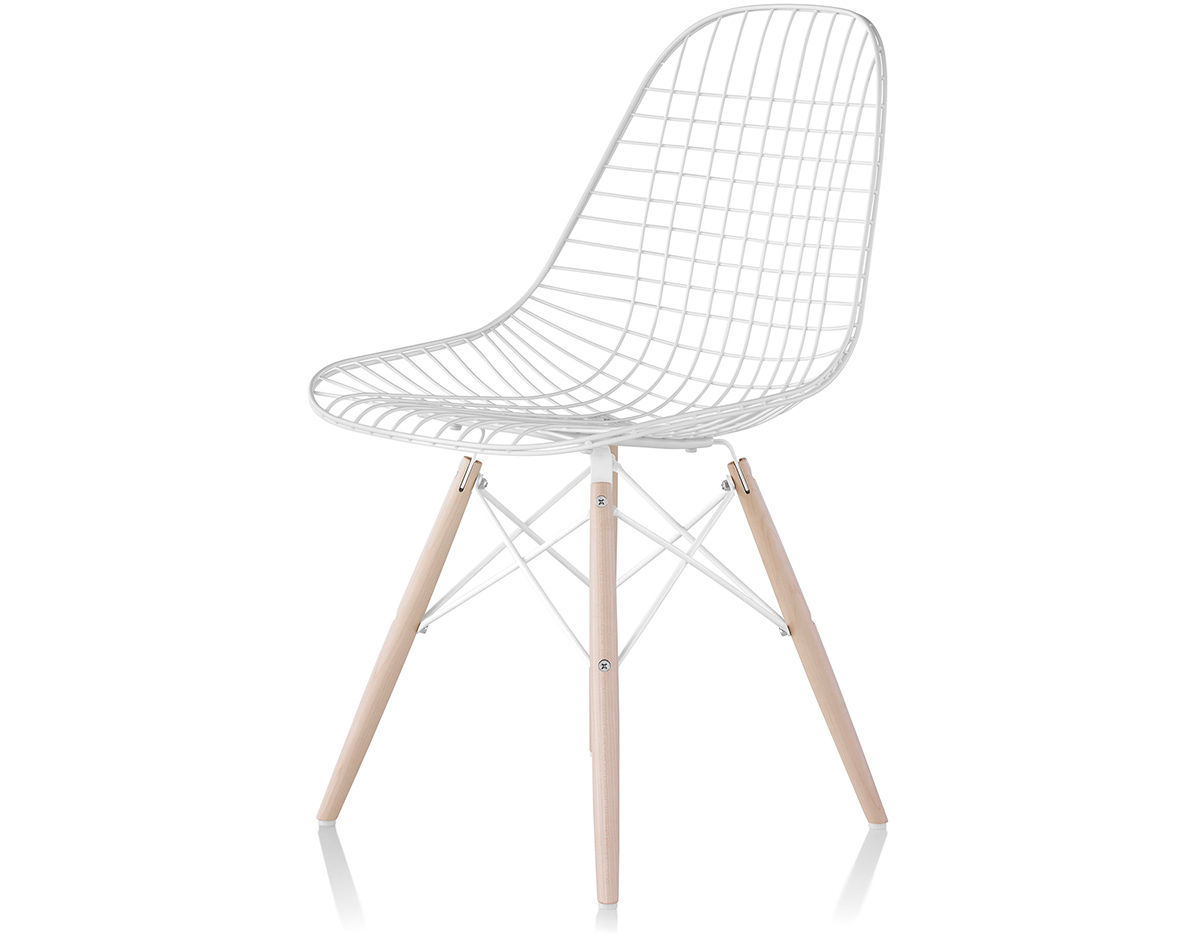 Eames 174 Wire Chair With Dowel Base Hivemodern Com