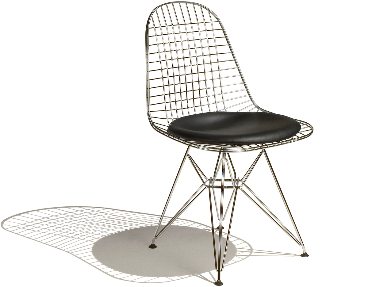 eames wire chair eames wire chair with seat pad