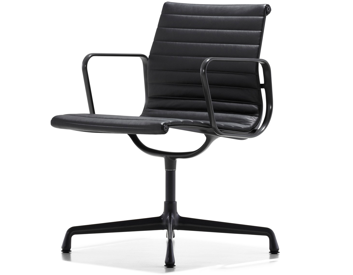 eames aluminum group side chair. Black Bedroom Furniture Sets. Home Design Ideas