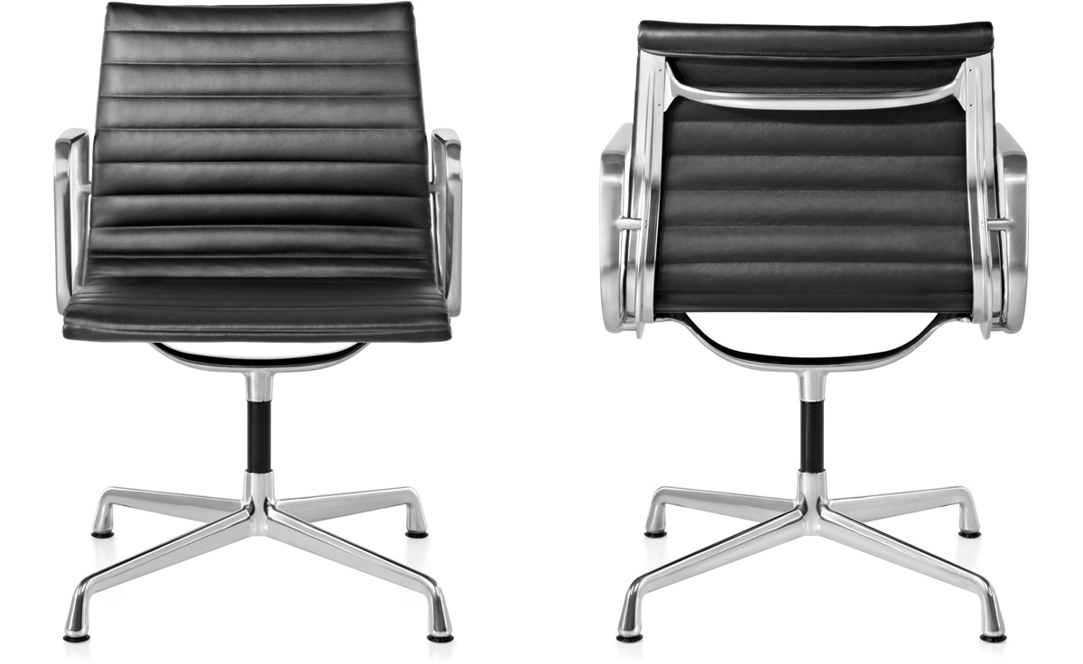 Eames Aluminum Group Side Chair hivemodern
