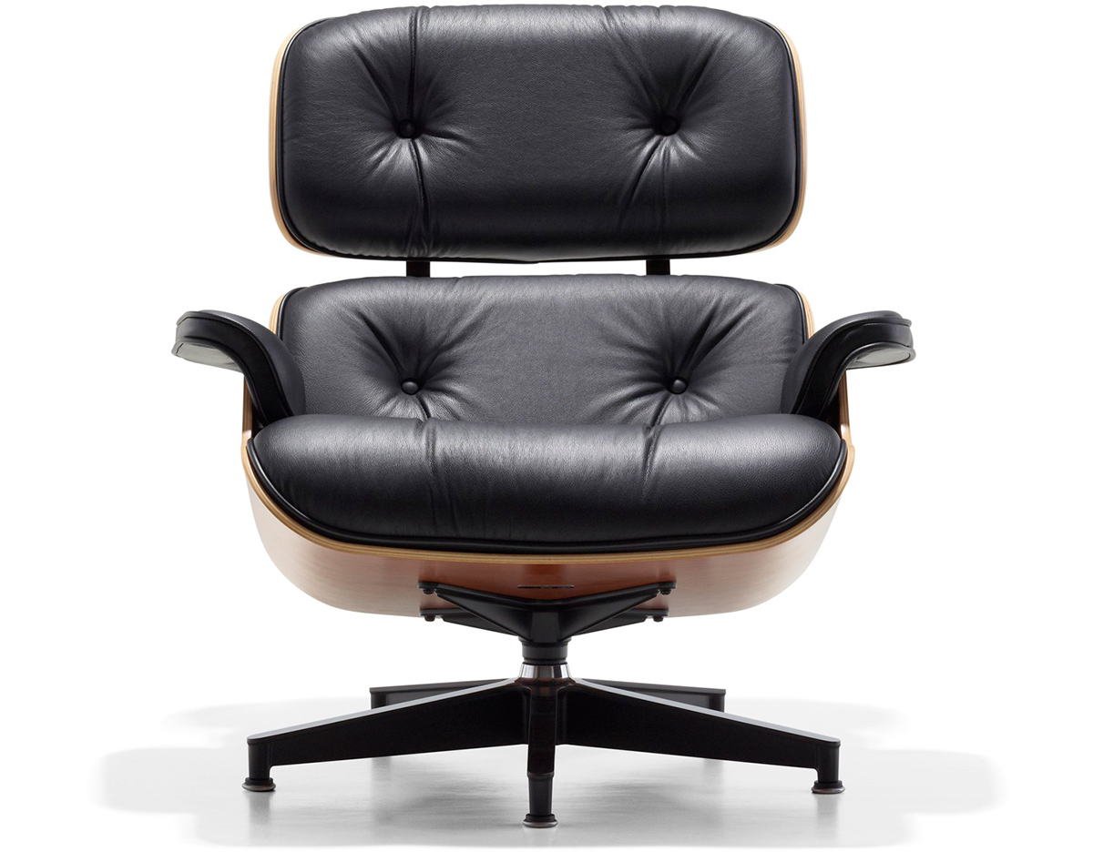 Eames® Lounge Chair No Ottoman - hivemodern.com