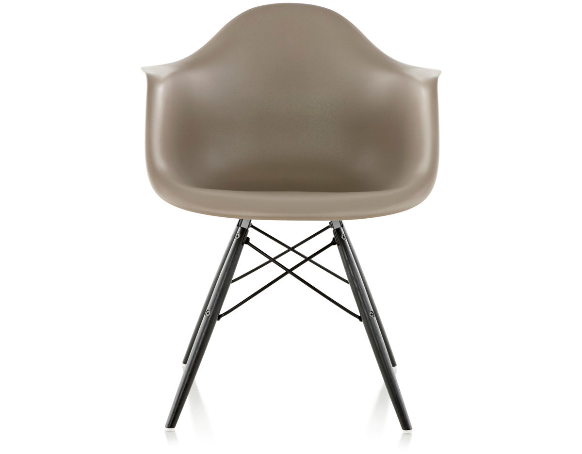 Beau Eames® Molded Plastic Armchair With Dowel Base