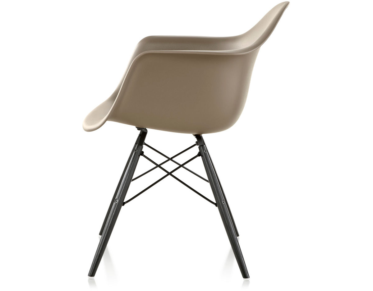 Eames Molded Plastic Armchair With Dowel Base Hivemodern Com