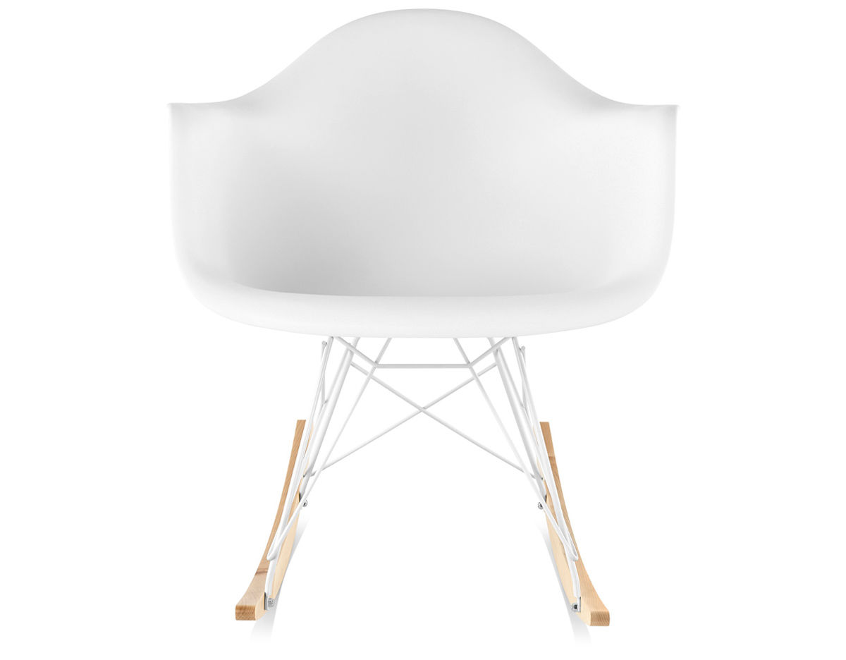Eames 174 Molded Plastic Armchair With Rocker Base