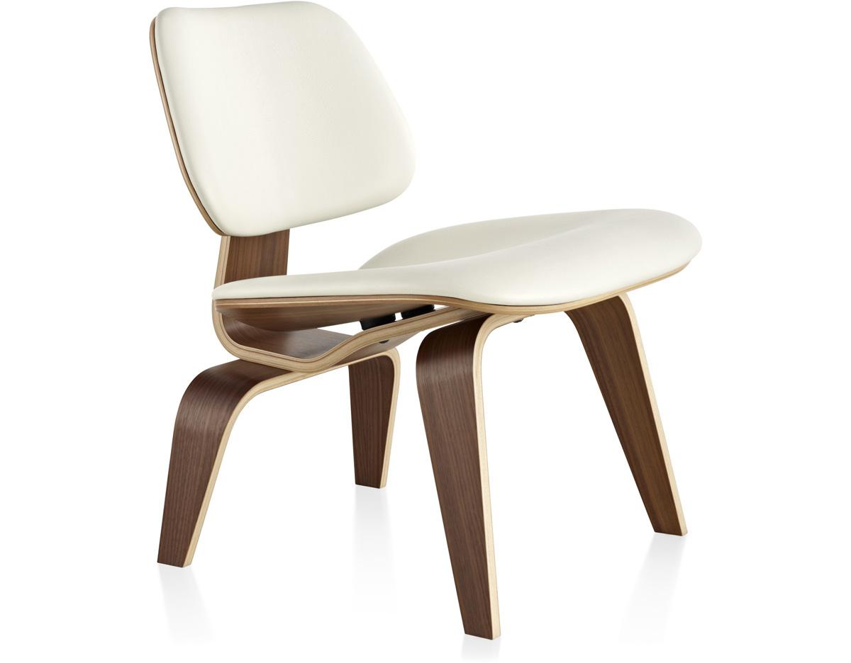 Eames upholstered lcw for Herman miller stoel