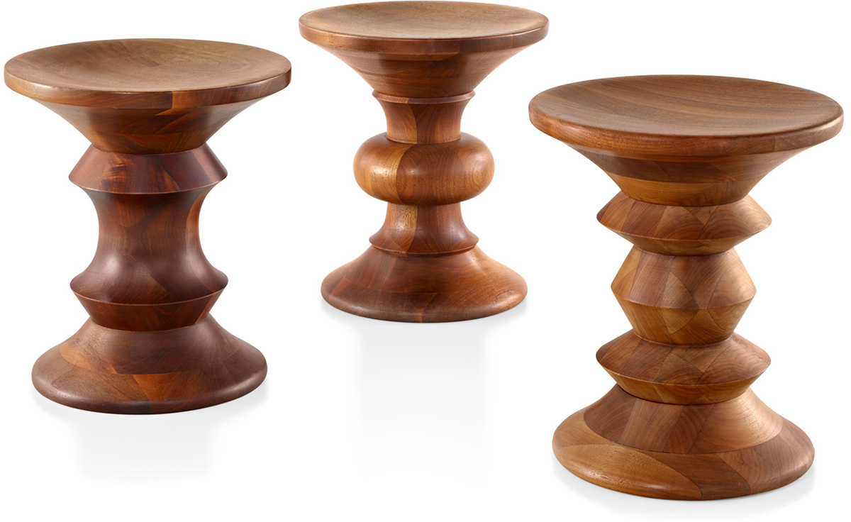 Awe Inspiring Eames Walnut Stool Camellatalisay Diy Chair Ideas Camellatalisaycom
