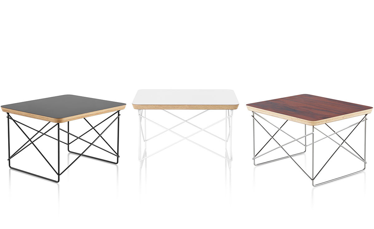 Charmant Eames® Wire Base Low Table