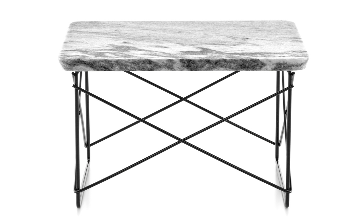 Eames wire base low table for Table ronde charles eames