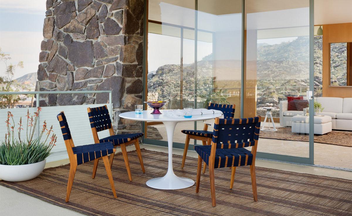Saarinen Outdoor Round Dining Table Hivemodern Com