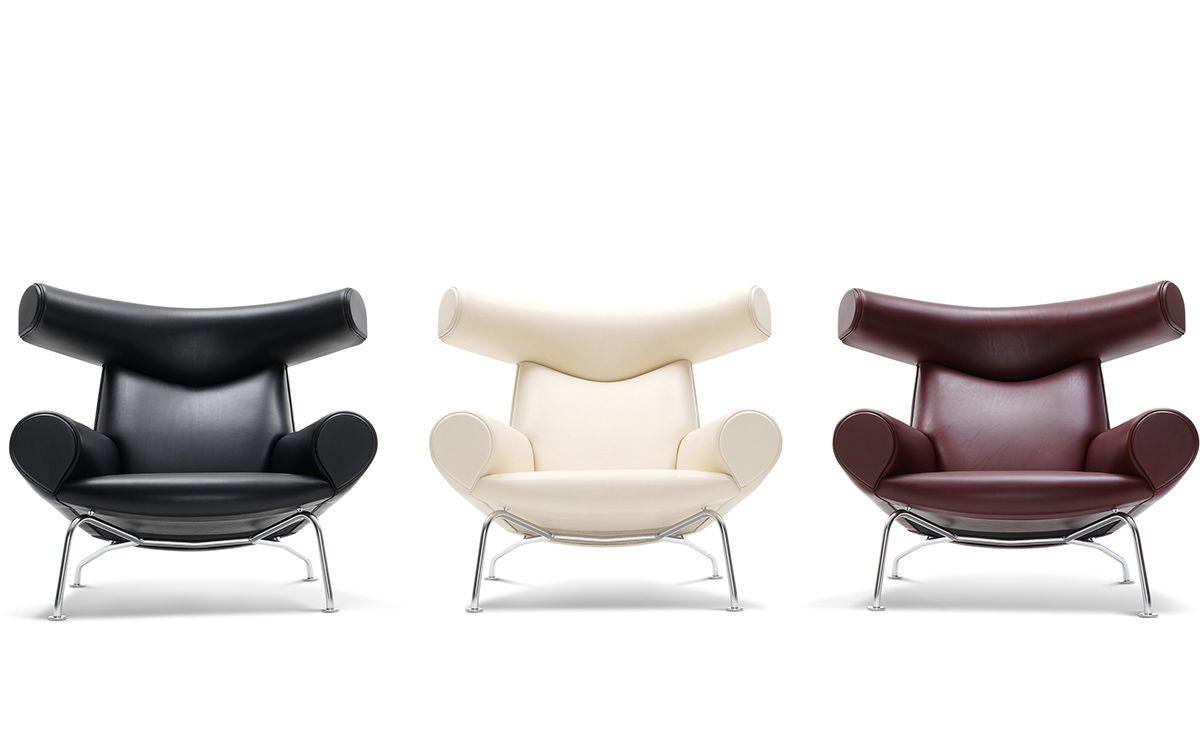 Hans Wegner Ej100 Ox Chair Hivemodern Com