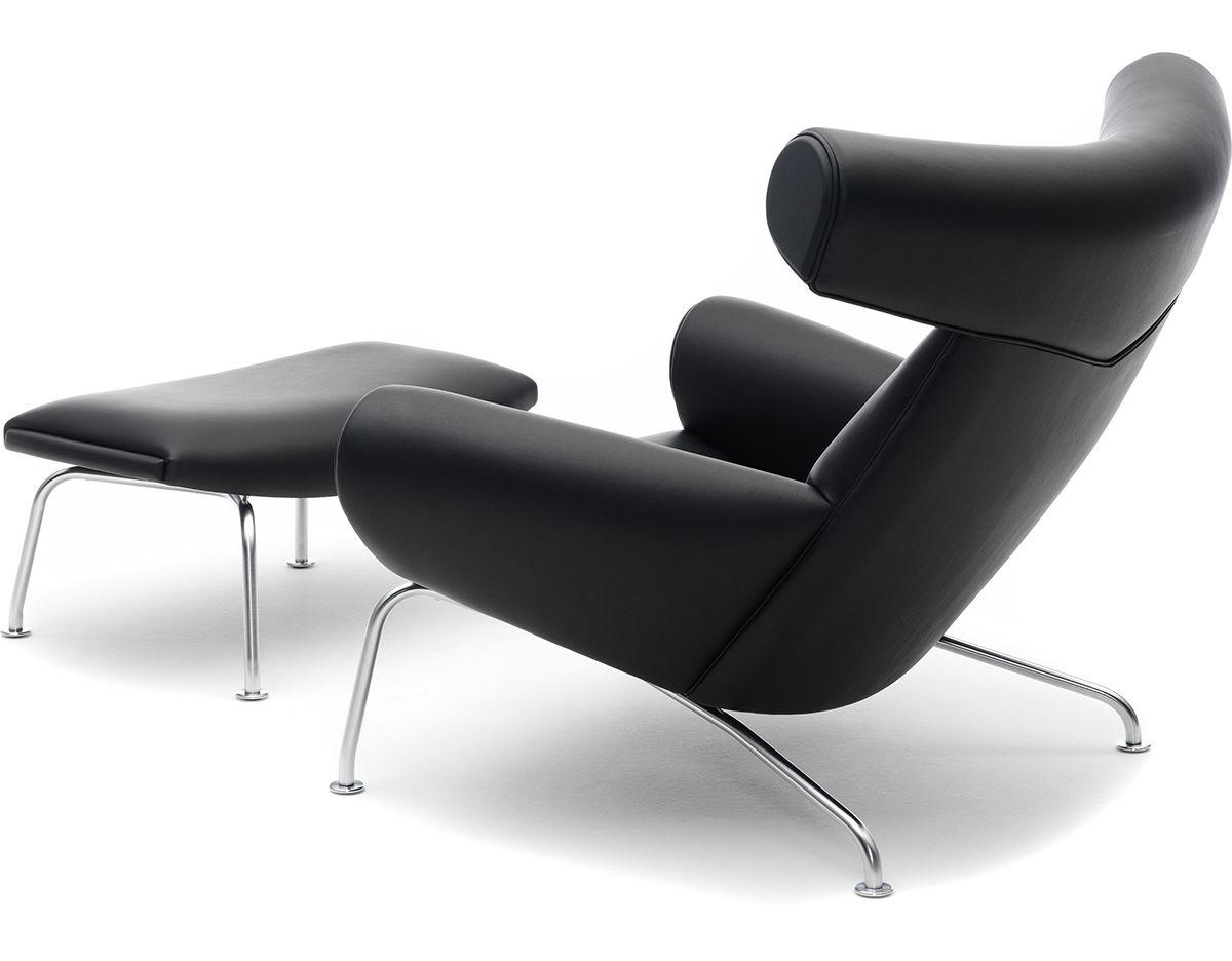 Hans Wegner Ej100 Ox Chair U0026 Ottoman