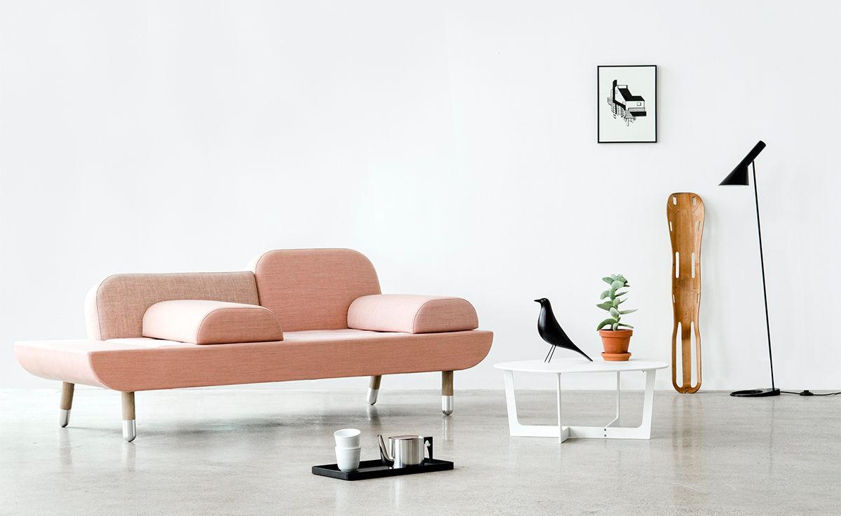 Danish Modern Chaise