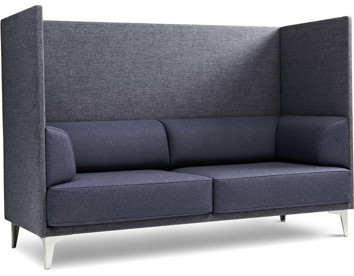 Charmant Ej400 Apoluna Box High Back 2 Seat Sofa