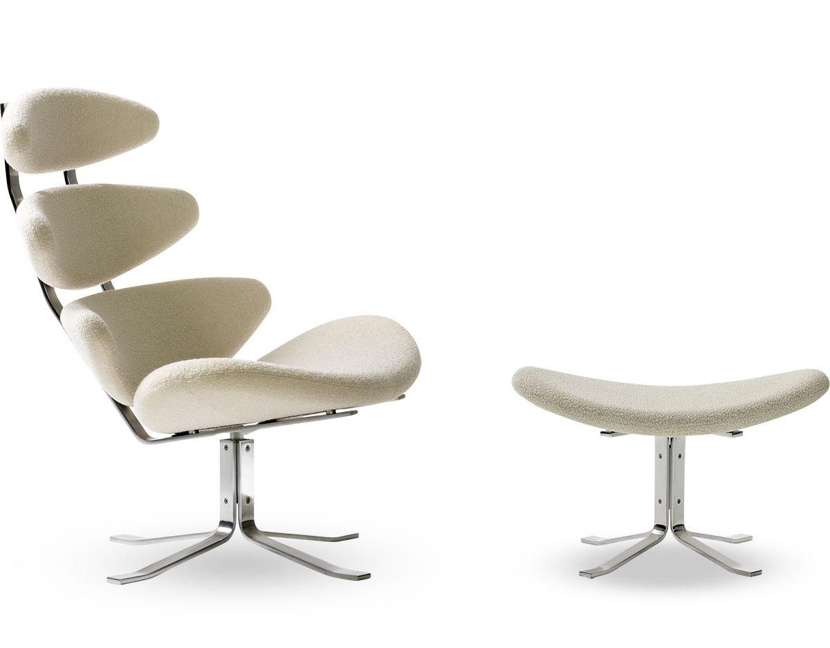 Poul Volther Ej5 Corona Chair Amp Ottoman Hivemodern Com