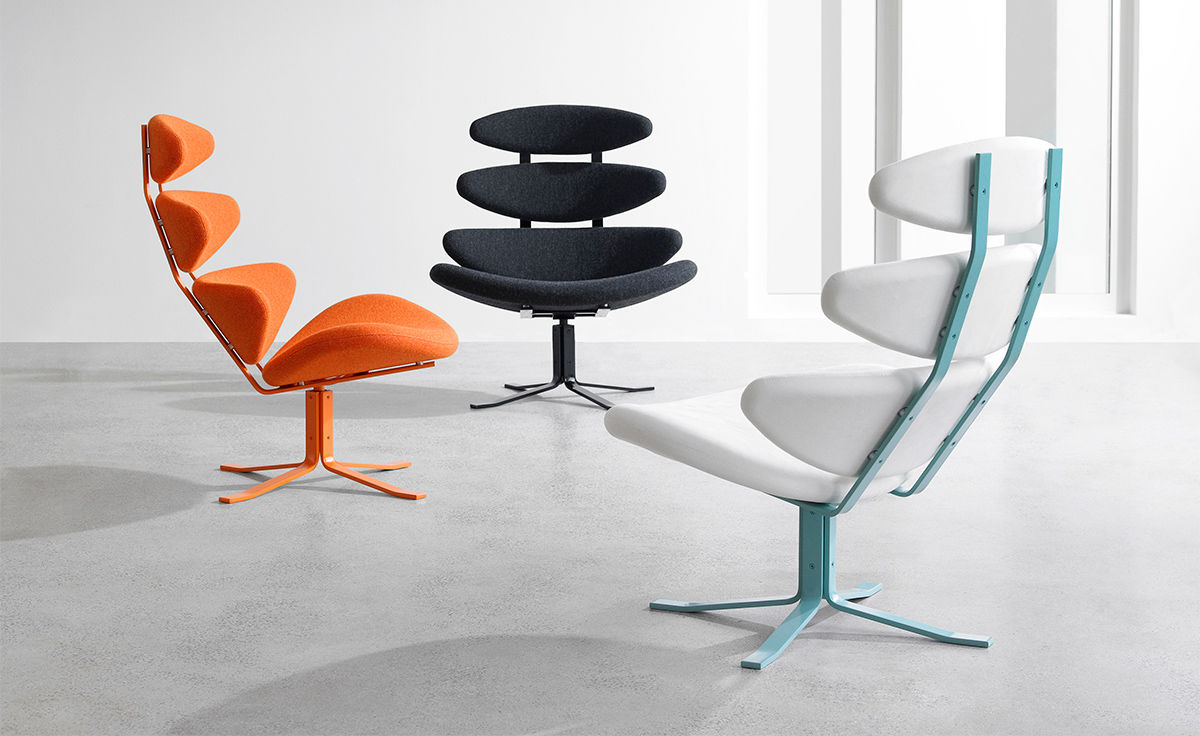 Poul Volther Ej5s Corona Spectrum Chair Hivemodern Com