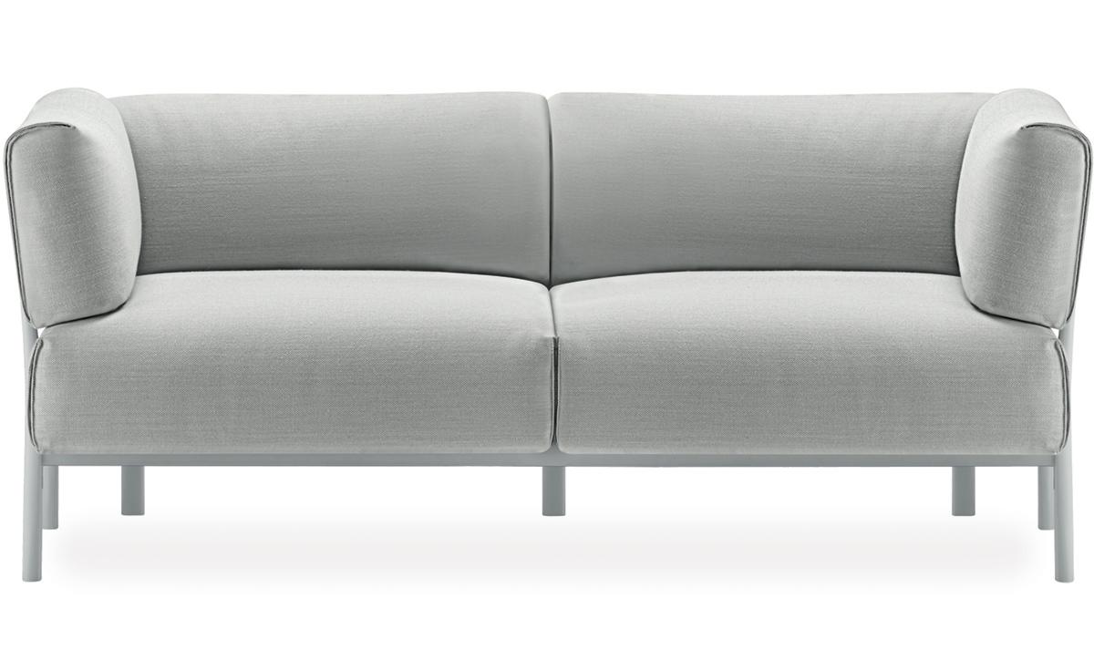 Teak folding table 200f hivemodern com - Eleven 2 Seater Sofa