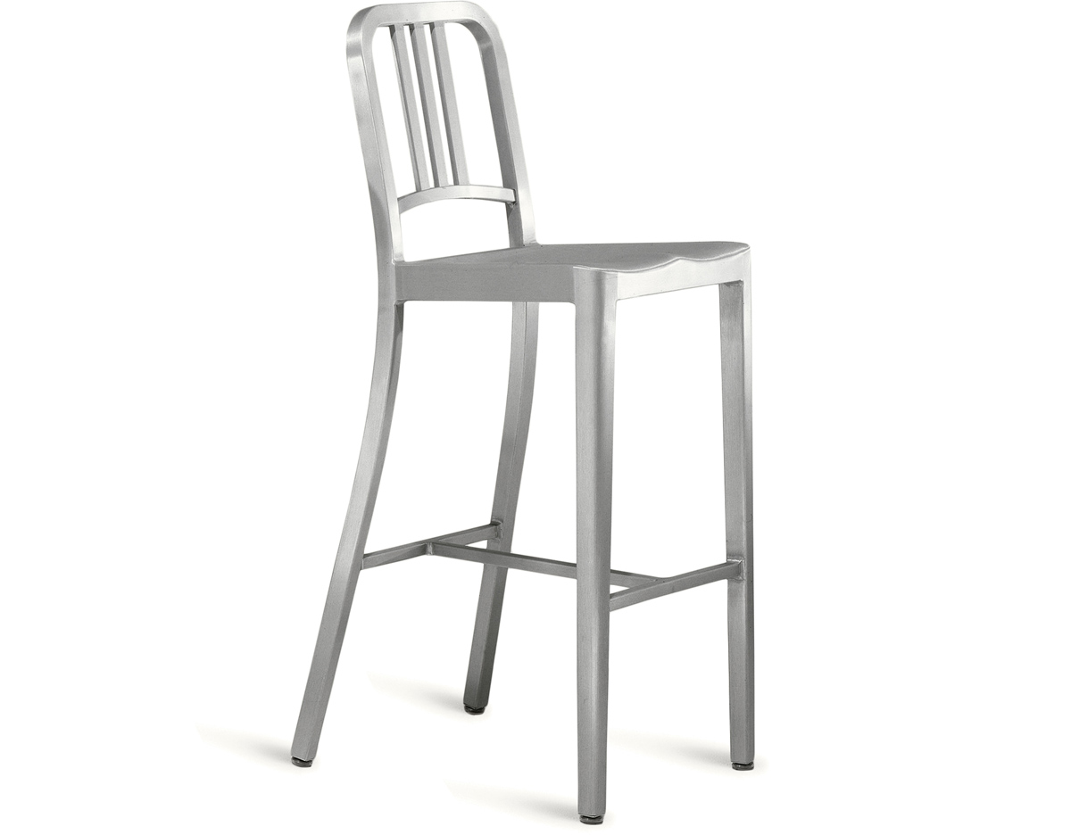 emeco navy stool  hivemoderncom - overview manufacturer media reviews