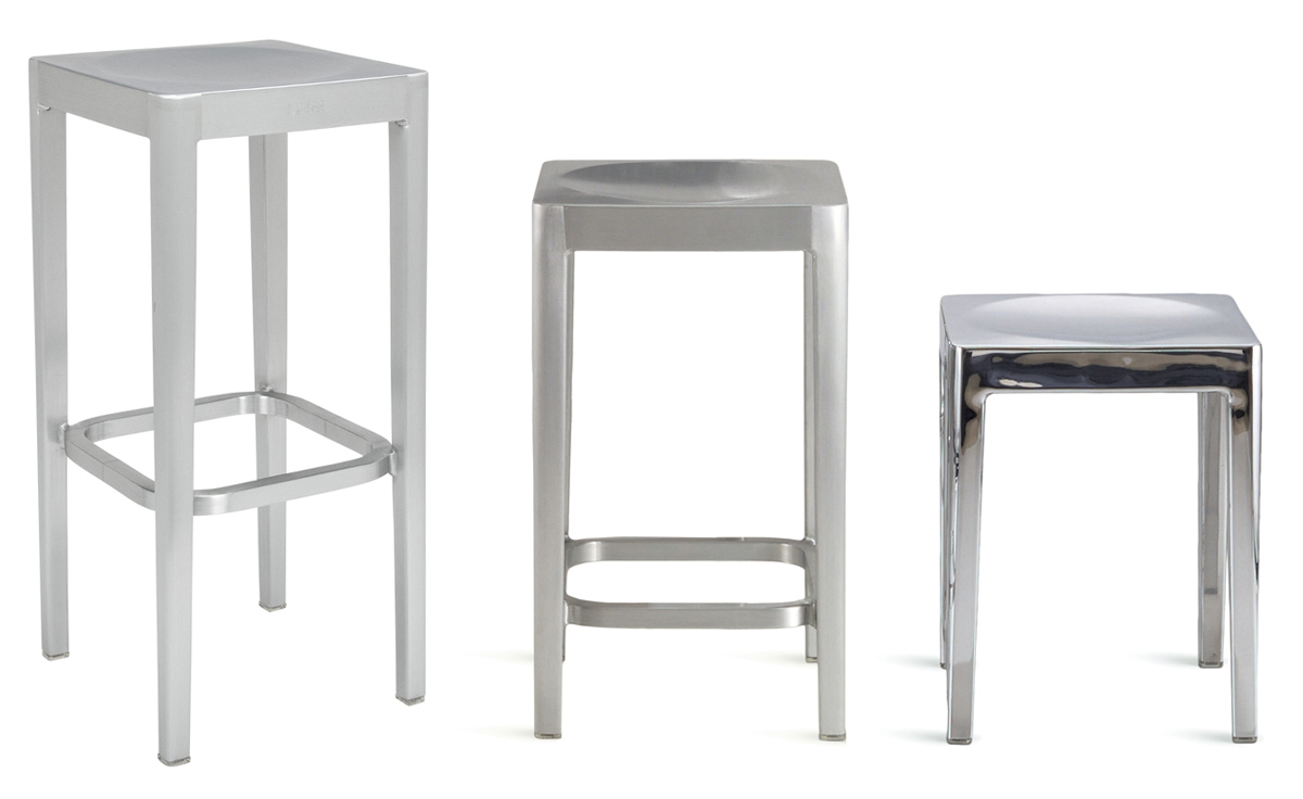 Emeco stool Philippe starck first design