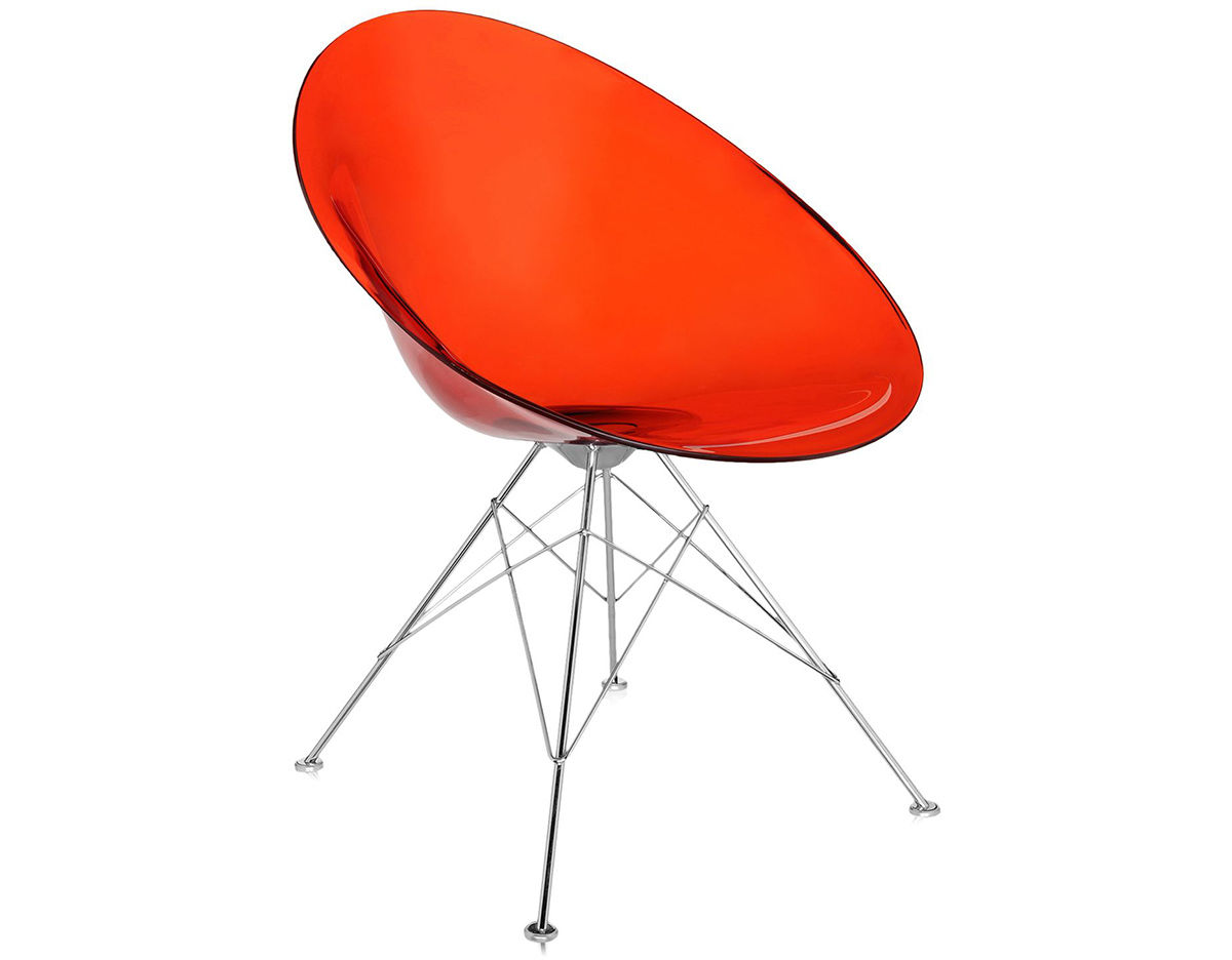 Ero|s| Fixed Base Chair   Philippe Starck   Kartell