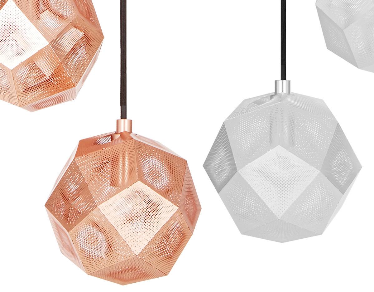 100 etch web lamp by tom tom dixon lampe beat table. Black Bedroom Furniture Sets. Home Design Ideas