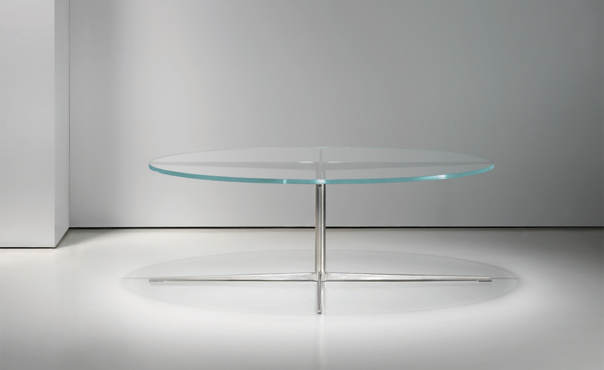 facet round coffee table hivemodern com
