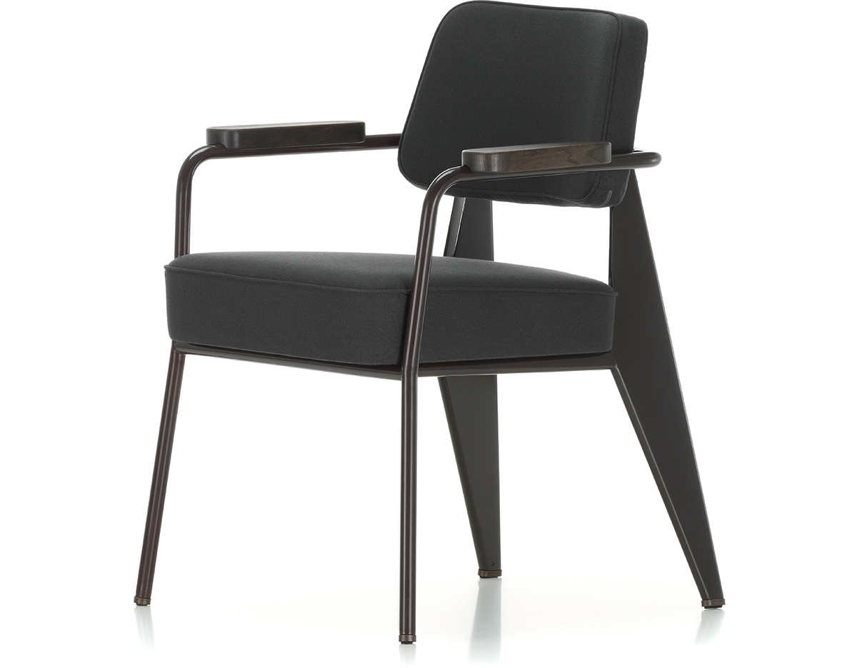 Prouv fauteuil direction chair for Fauteuil design vitra