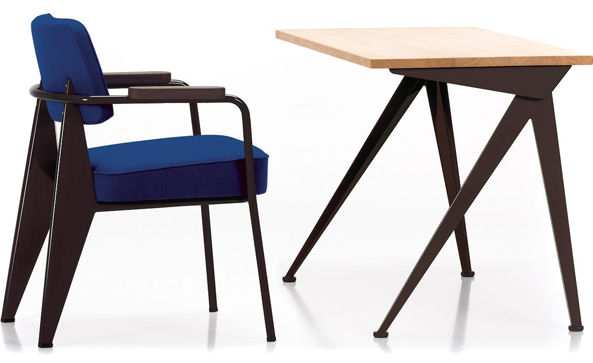 Prouvé Fauteuil Direction Chair hivemodern