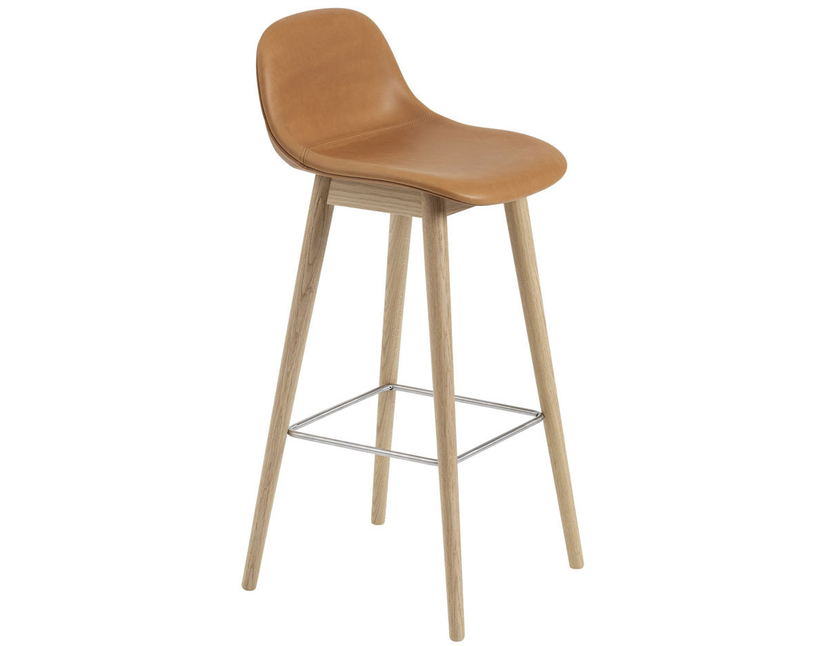 Miraculous Fiber Stool With Backrest And Wood Base Dailytribune Chair Design For Home Dailytribuneorg