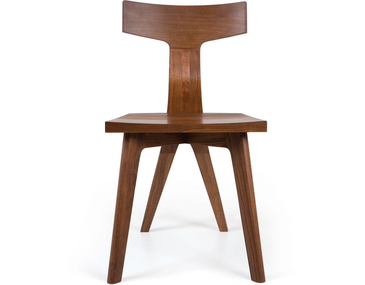 Fin Dining Chair 344 Hivemodern Com