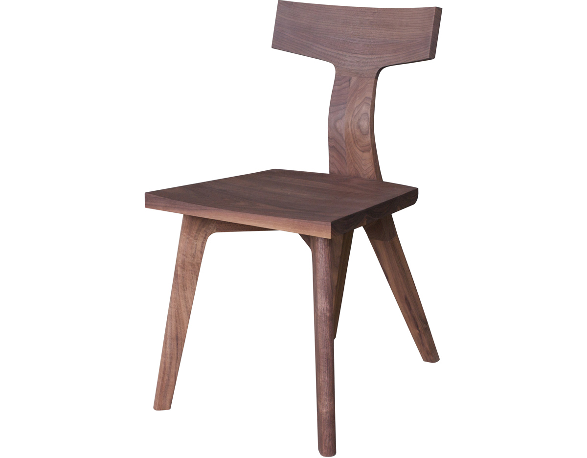 Simple wooden dining chairs - Overview