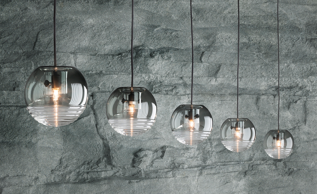 Flask smoke ball pendant light Tom dixon lighting
